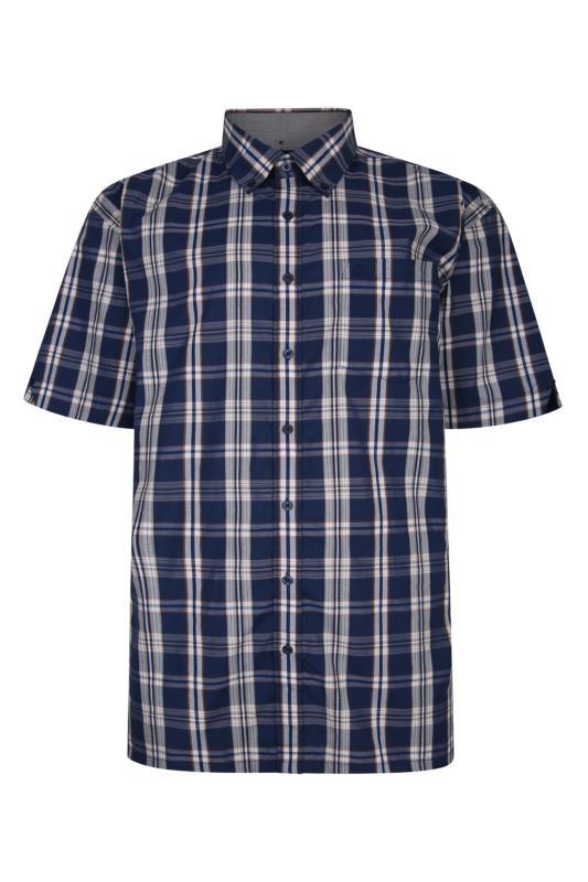 ESPIONAGE Blue Check Shirt