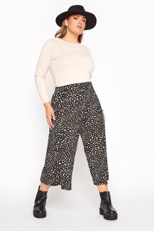 LIMITED COLLECTION Black Polka Dot Culottes