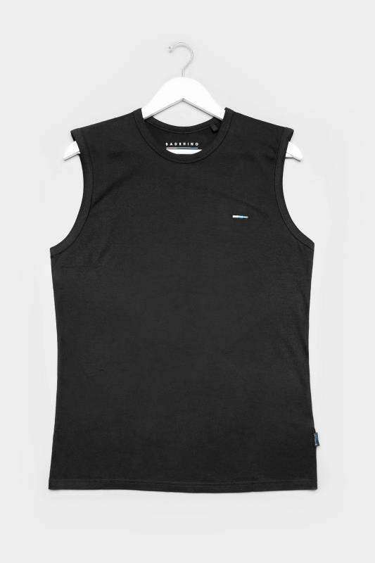 Men's Vests BadRhino Black Muscle Vest