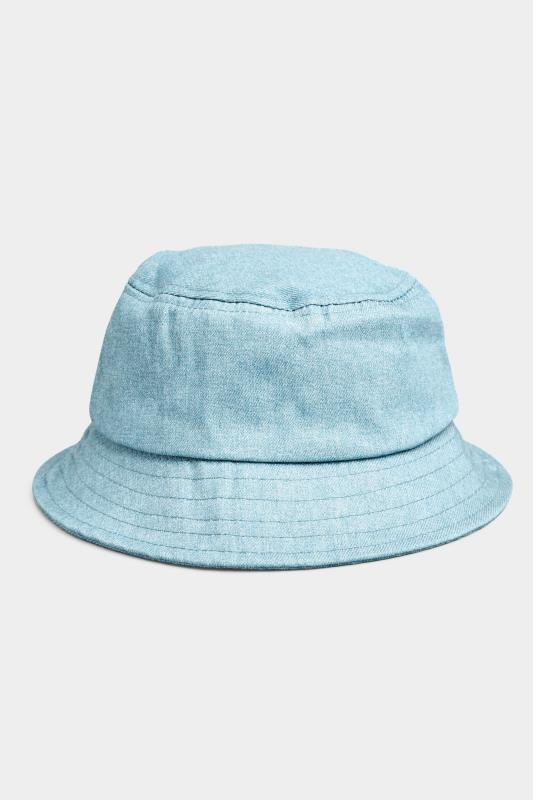Light Blue Denim Bucket Hat