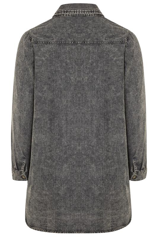Grey Acid Wash Distressed Denim Shirt_BK.jpg