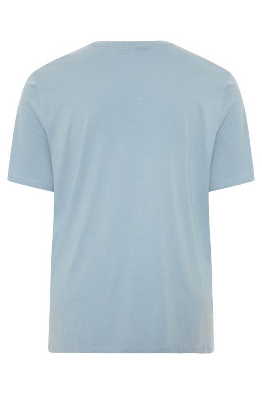JACK & JONES Denim Blue Moon Logo T-Shirt