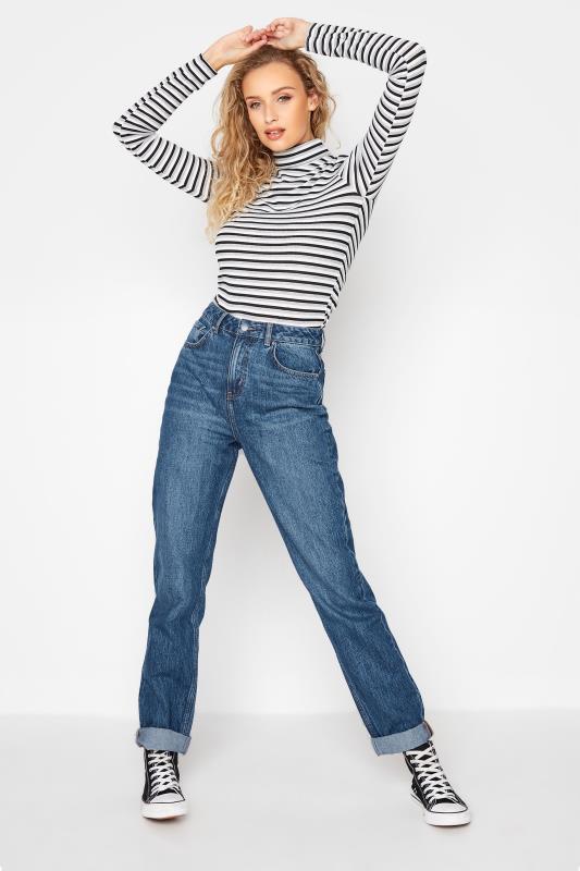 Tall  LTS Indigo Mom Jeans
