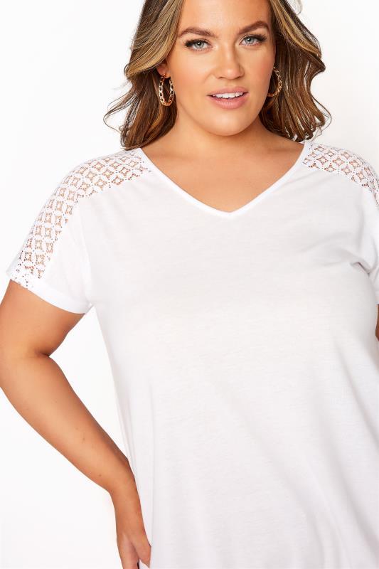 White Lace Sleeve Bubble Hem Top_D.jpg