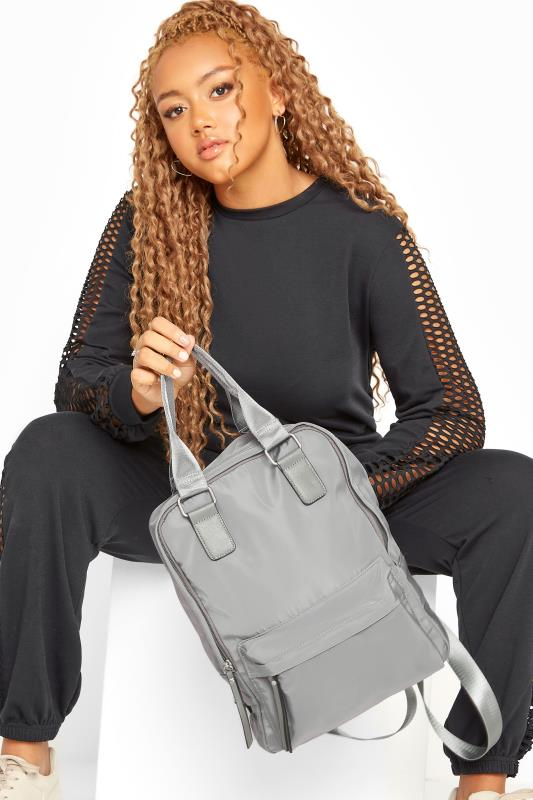 Bags & Purses Light Grey Backpack