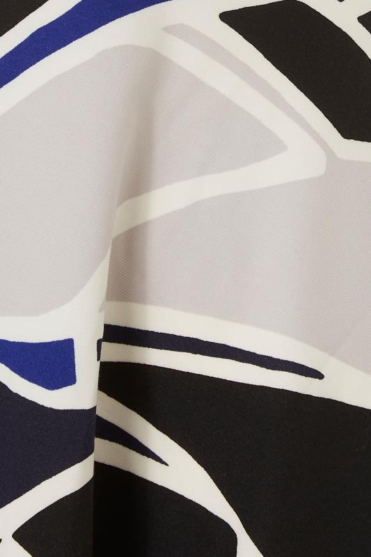 Black Abstract Wrap Skater Midi Dress_S.jpg