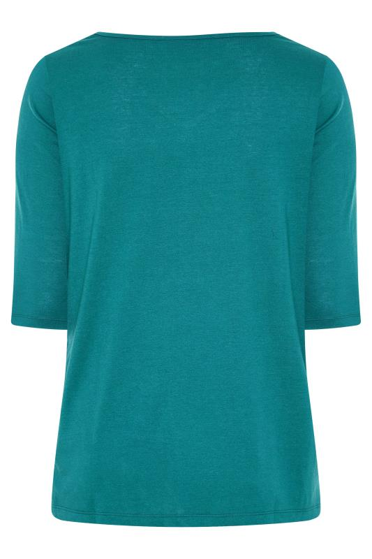 Teal V-Neck T-Shirt_BK.jpg