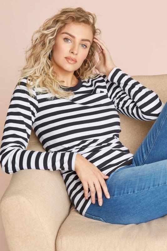 Black & White Stripe Long Sleeve Top_l.jpg