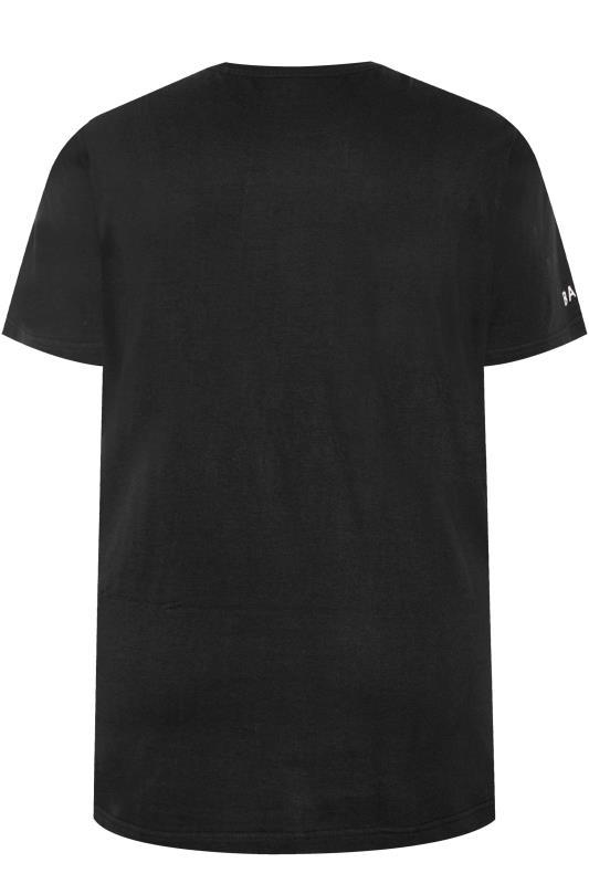 BadRhino Black Embroidered Logo T-Shirt