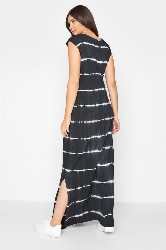 LTS Black Tie Dye Side Splits Maxi Dress_C.jpg