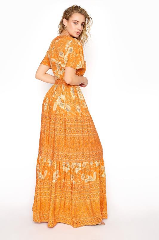 LTS Orange Floral Tiered Boho Maxi Dress_C.jpg