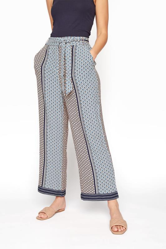 Grey Geometric Print Belted Culottes_B.jpg