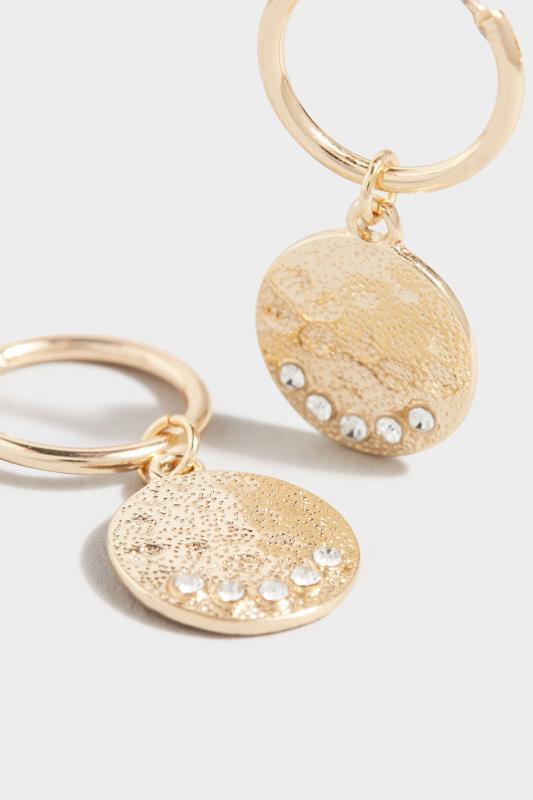 Gold Diamante Disc Drop Earrings_D.jpg