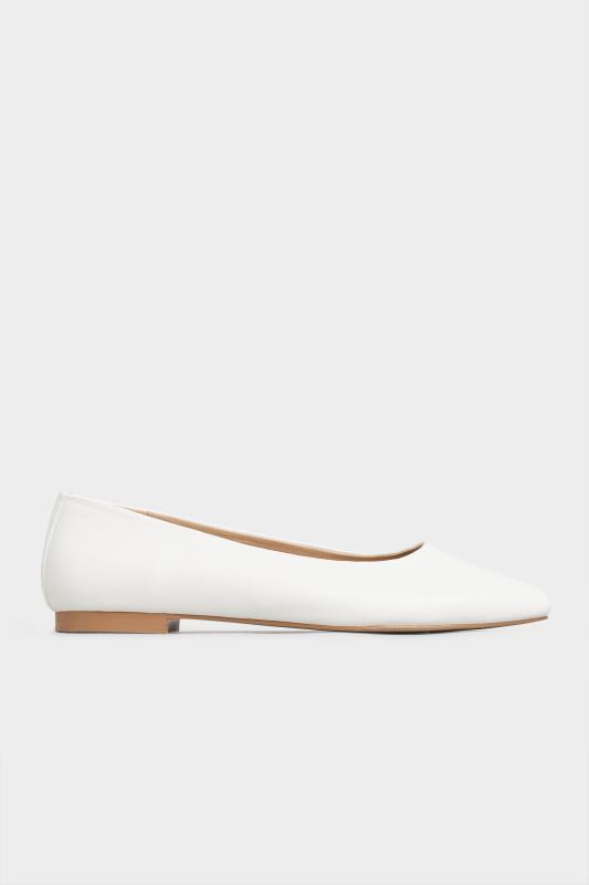LTS Off-White Almond Toe Ballerinas_A.jpg