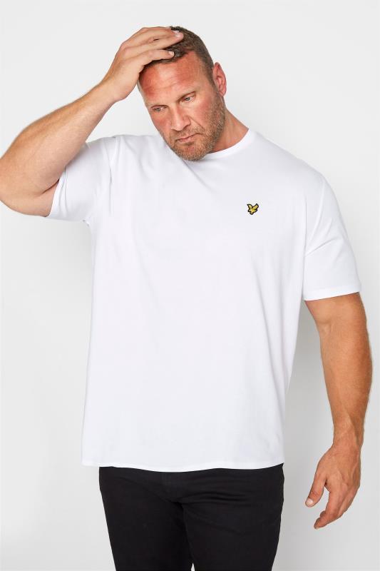 LYLE & SCOTT White Crew Neck T-Shirt_M.jpg