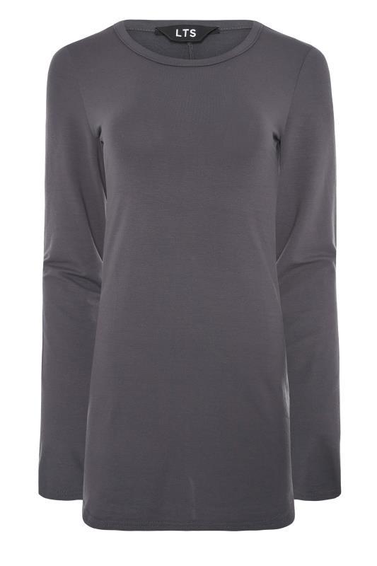 LTS Charcoal Grey Long Sleeve T-Shirt_F.jpg