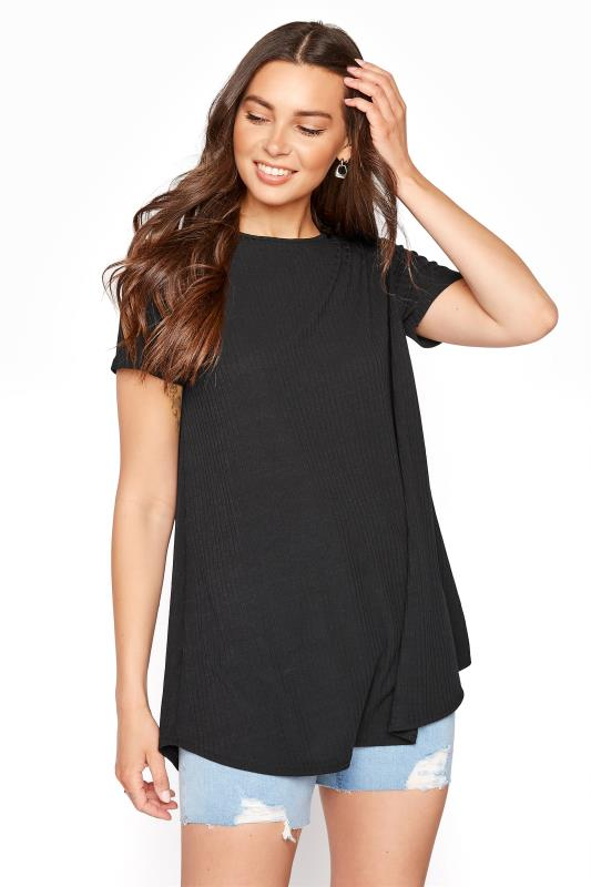 Tall  LTS Black Rib Swing Top
