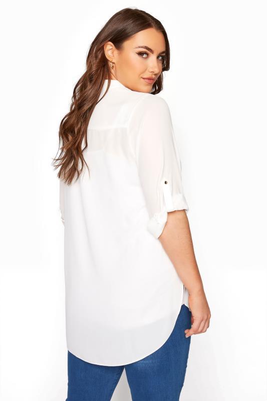 White Oversized Chiffon Shirt_C.jpg