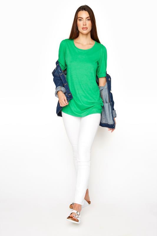 LTS Green Puff Sleeve T-Shirt