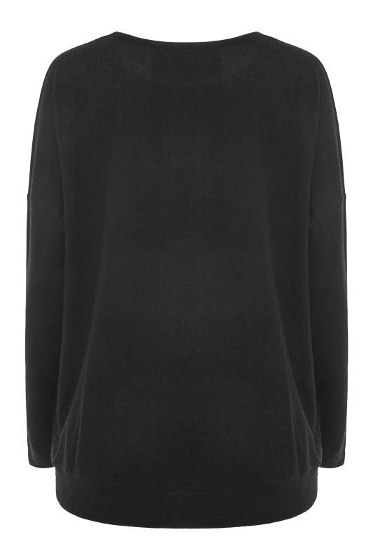 LTS Black Sequin Star Soft Touch Top_BK.jpg