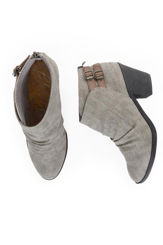 BLOWFISH Grey Samie Ankle Boot