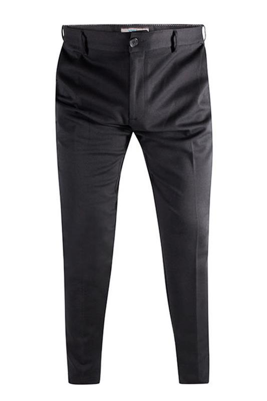 Plus Size  D555 Black Stretch Trousers
