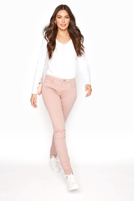 Tall Jeans Coral Skinny Low Rise Jeans