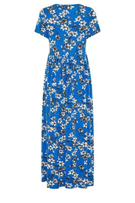 LTS Blue Floral Print Midi Dress_BK.jpg