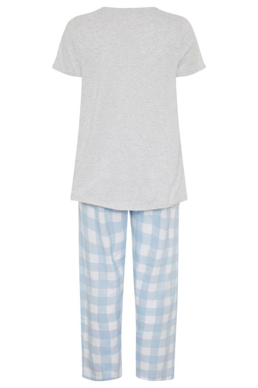 DISNEY Grey Dumbo Check Print Pyjama Set_BK.jpg