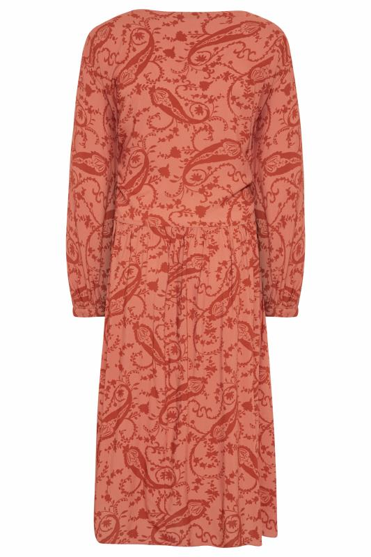 THE LIMITED EDIT Pink Paisley Boho Maxi Dress_BK.jpg
