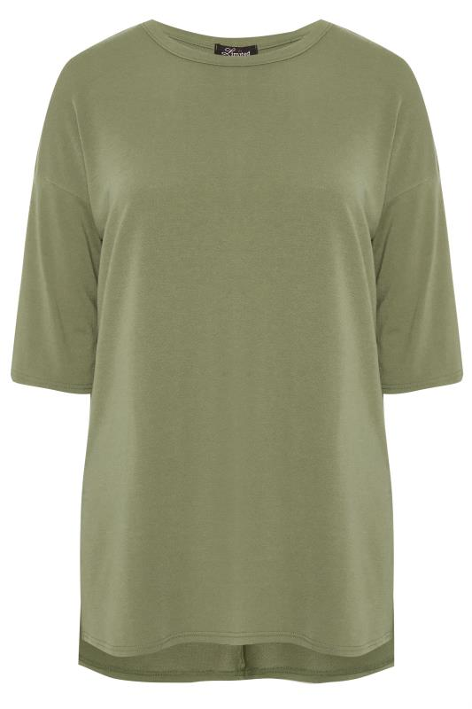 LIMITED COLLECTION Khaki Longline Sweat Top