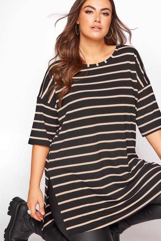 Black Striped Oversized T-shirt_D.jpg