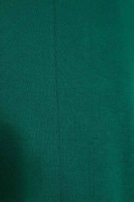 Emerald Green Oversized Jersey T-Shirt_S.jpg