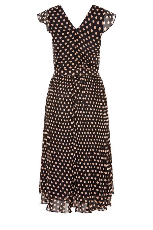 LTS Black Polka Dot Chiffon Dress_BK.jpg