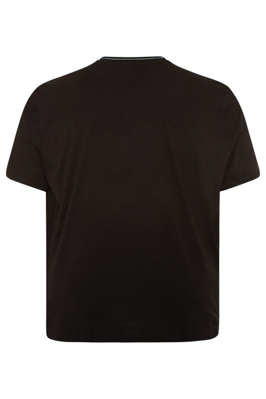 LYLE & SCOTT Black Branded Ranger T-Shirt_BK.jpg