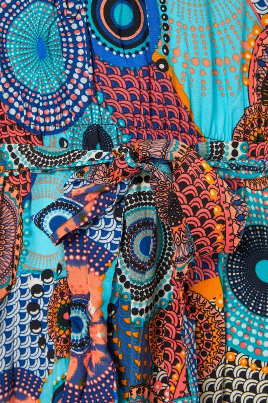 LTS Blue Circle Frill Wrap Maxi Dress_s.jpg