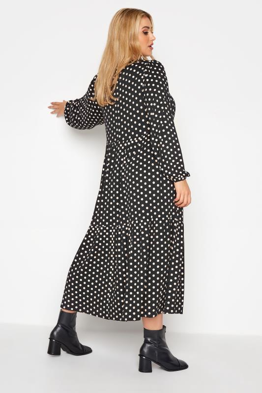 Black Polka Dot Tiered Midaxi Dress_C.jpg
