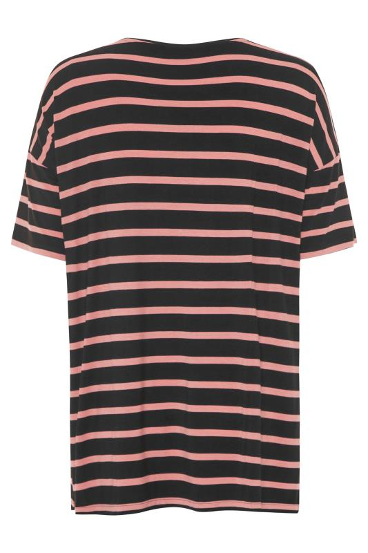 Black Oversized Stripe T-Shirt_BK.jpg