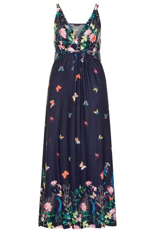 Navy Butterfly Maxi Dress_F.jpg