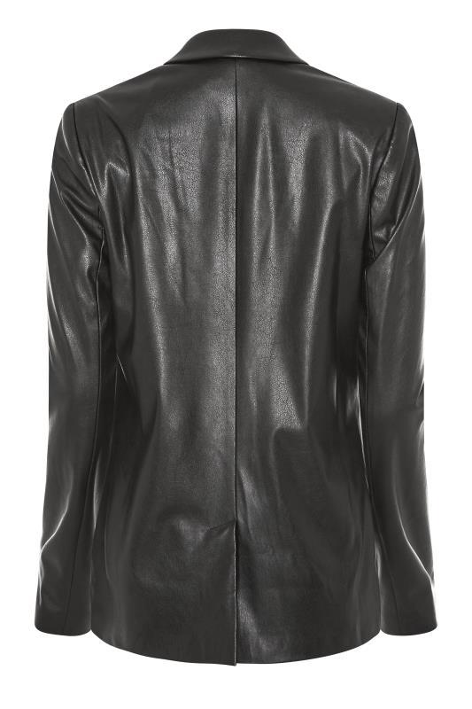 LTS Black Faux Leather Blazer_BK.jpg
