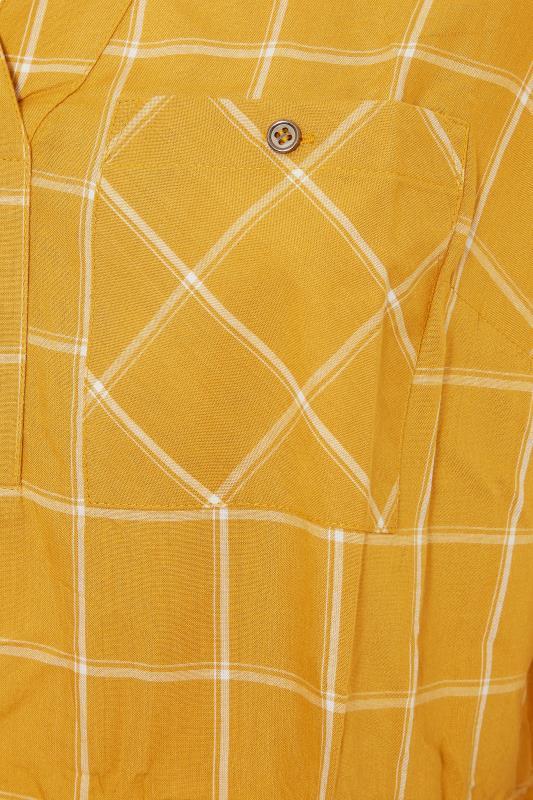 Mustard Yellow Overhead Check Shirt_S.jpg