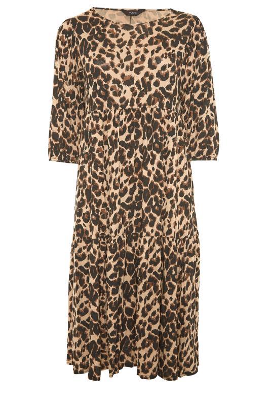 Beige Animal Print Midaxi Dress_F.jpg