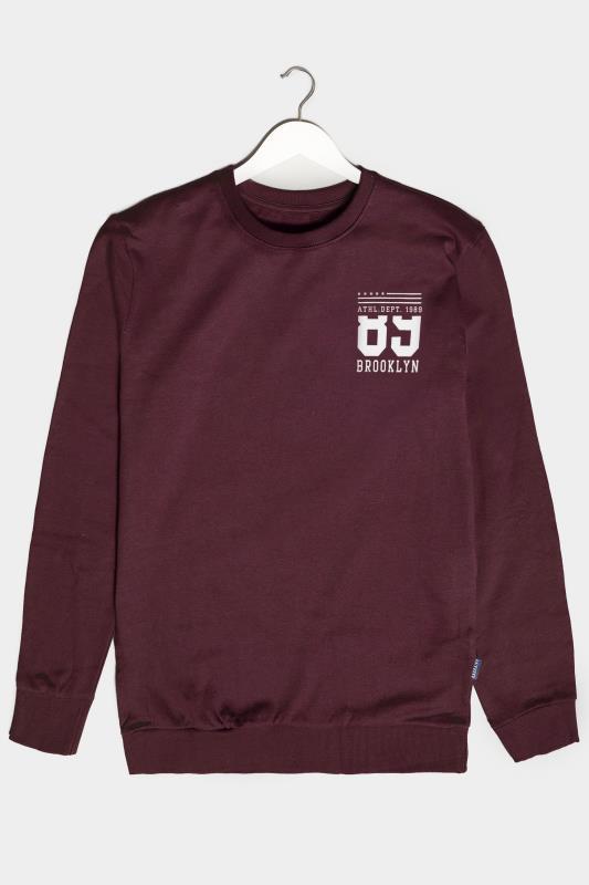 Men's  BadRhino Burgundy Brooklyn 89 Sweatshirt