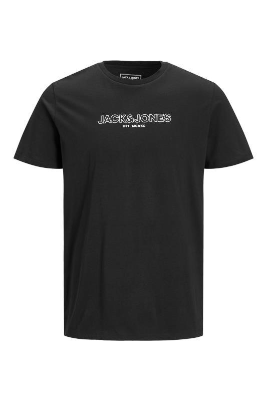 JACK & JONES Black Bank T-Shirt_F.jpg