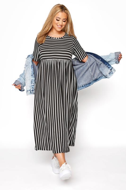 Black Stripe Midi Dress_B.jpg