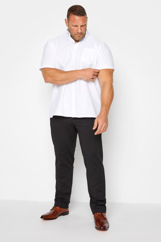 Grande Taille D555 Black Stretch Trousers
