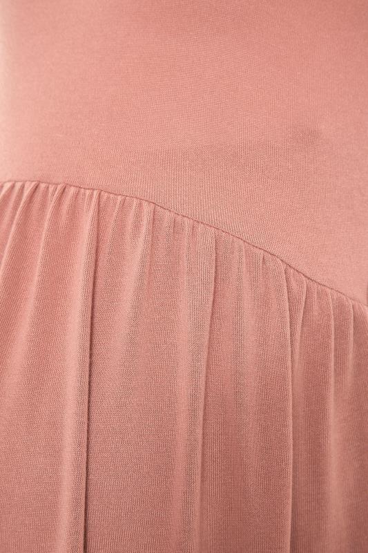 LTS Maternity Pink Smock Top_S.jpg
