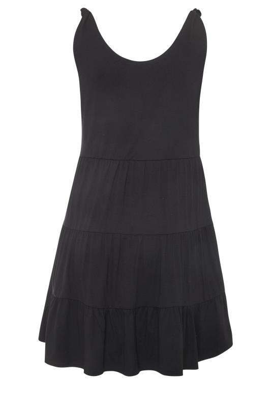 LIMITED COLLECTION Black Tiered Jersey Dress_bk.jpg