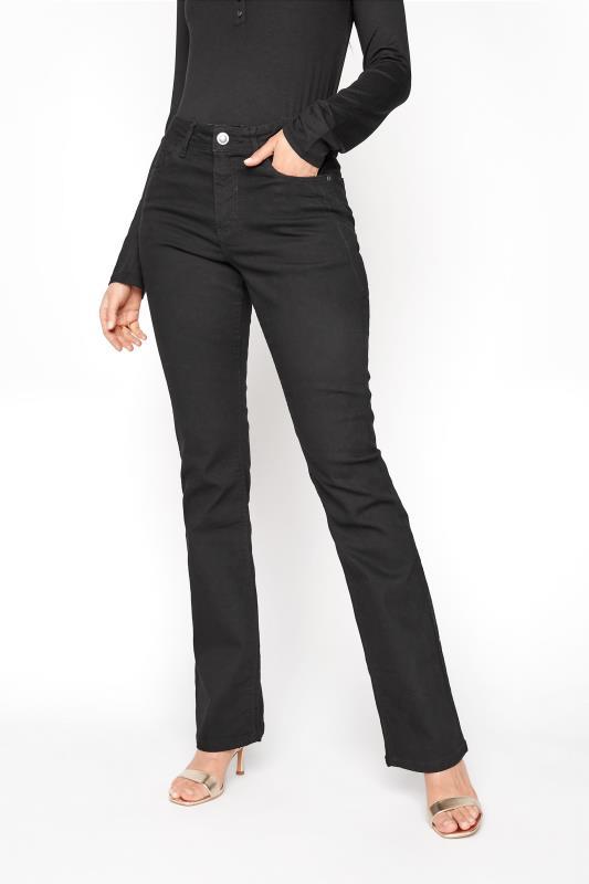 LTS Black ISLA Bootcut Jeans