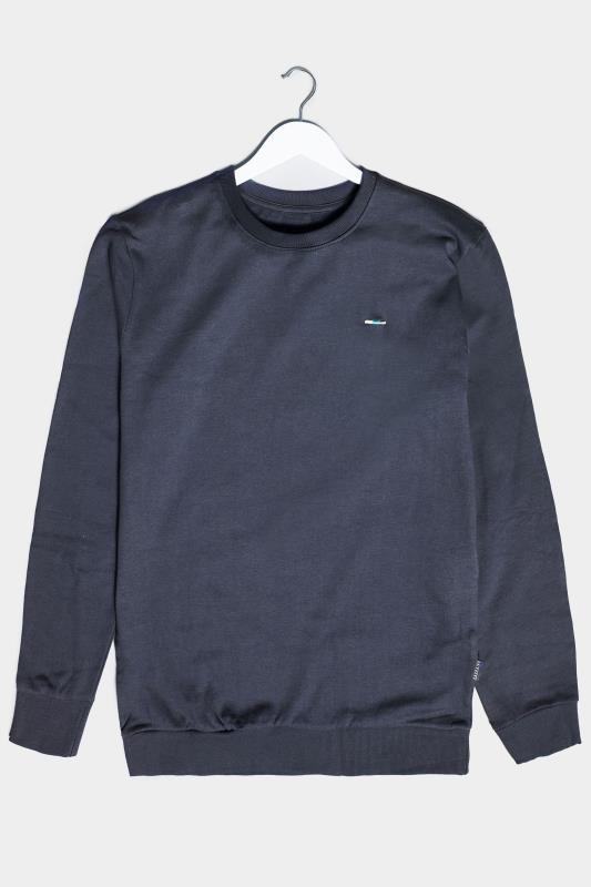 BadRhino Navy Essential Sweatshirt_F.jpg